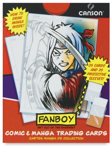CANSON CANSON COMIC AND MANGA TRADING CARDS 20/PK    CAN-100510914