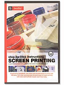 SPEEDBALL INC SPEEDBALL SCREEN PRINTING INSTRUCTIONAL DVD sale price