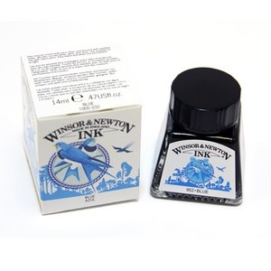 WINSOR NEWTON WINSOR & NEWTON DRAWING INK BLUE 14ML