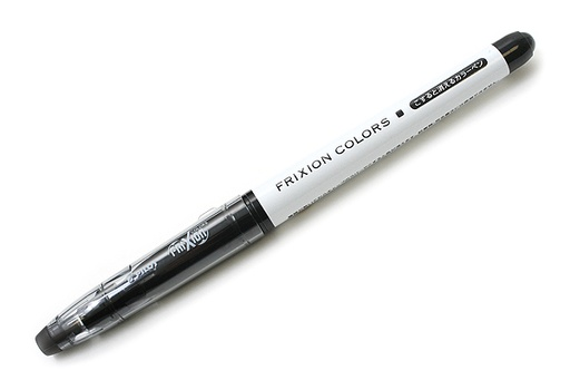 PILOT PILOT FRIXION COLORS ERASABLE INK PEN 2.5MM BLACK