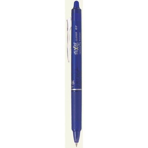 PILOT PILOT FRIXION BALL CLICKER ERASABLE GEL INK PEN EXTRA FINE 0.5MM LIGHT BLUE