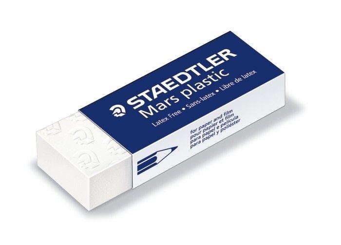 STAEDTLER STAEDTLER MARS PLASTIC ERASER LARGE WHITE 52650