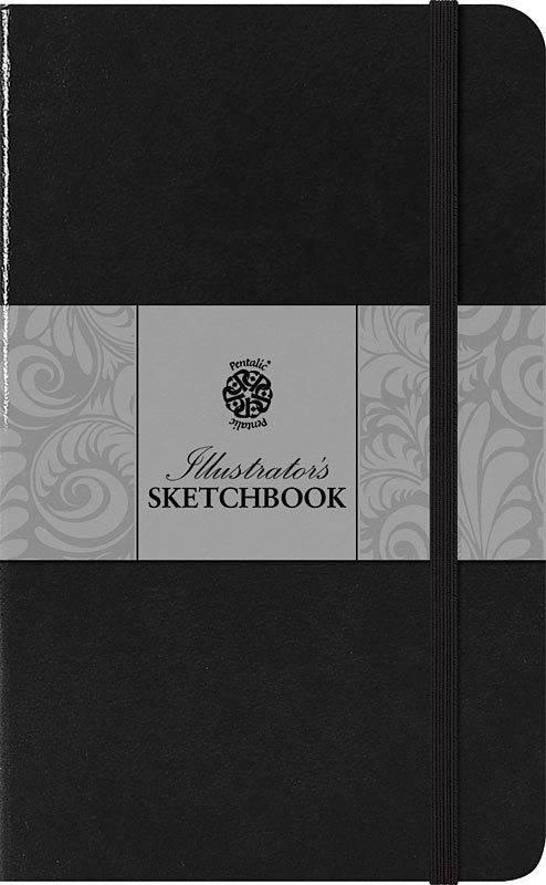 PENTALIC PENTALIC ILLUSTRATORS SKETCHBOOK 5.5X3.5 ESPRESSO    PTL-018021