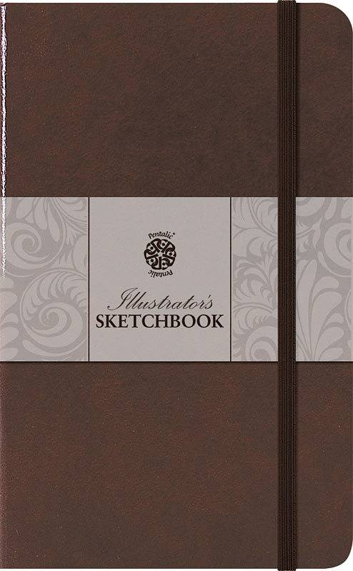 PENTALIC PENTALIC ILLUSTRATORS SKETCHBOOK 5.5X3.5 MOCHA    PTL-018012