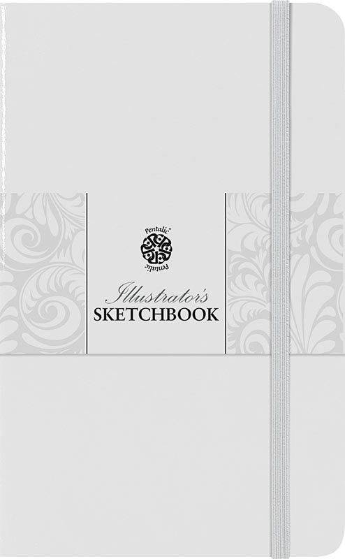 PENTALIC PENTALIC ILLUSTRATORS SKETCHBOOK 5.5X3.5 WHITE CHOCOLATE