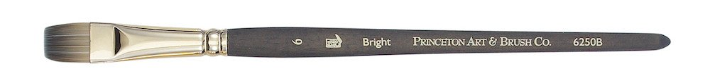 PRINCETON PRINCETON UMBRIA BRUSH SERIES 6250 SPECIAL SYNTHETIC SH BRIGHT 6