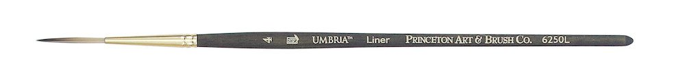 PRINCETON PRINCETON UMBRIA BRUSH SERIES 6250 SPECIAL SYNTHETIC SH LINER 2