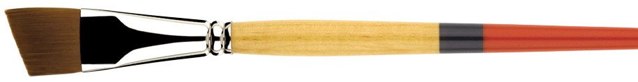 PRINCETON PRINCETON SNAP BRUSH SERIES 9650 GOLD SYNTHETIC SH ANGLE SHADER 1/4 INCH