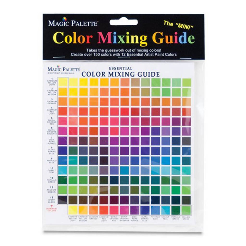 MAGIC PALETTE MAGIC PALETTE COLOR MIXING GUIDE ESSENTIAL MINI