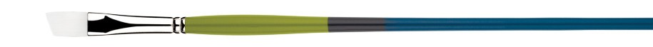 PRINCETON PRINCETON SNAP BRUSH SERIES 9800 WHITE SYNTHETIC LH ANGLE BRIGHT 10