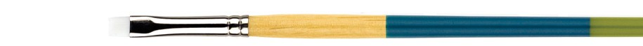 PRINCETON PRINCETON SNAP BRUSH SERIES 9850 WHITE SYNTHETIC SH BRIGHT SHADER 4