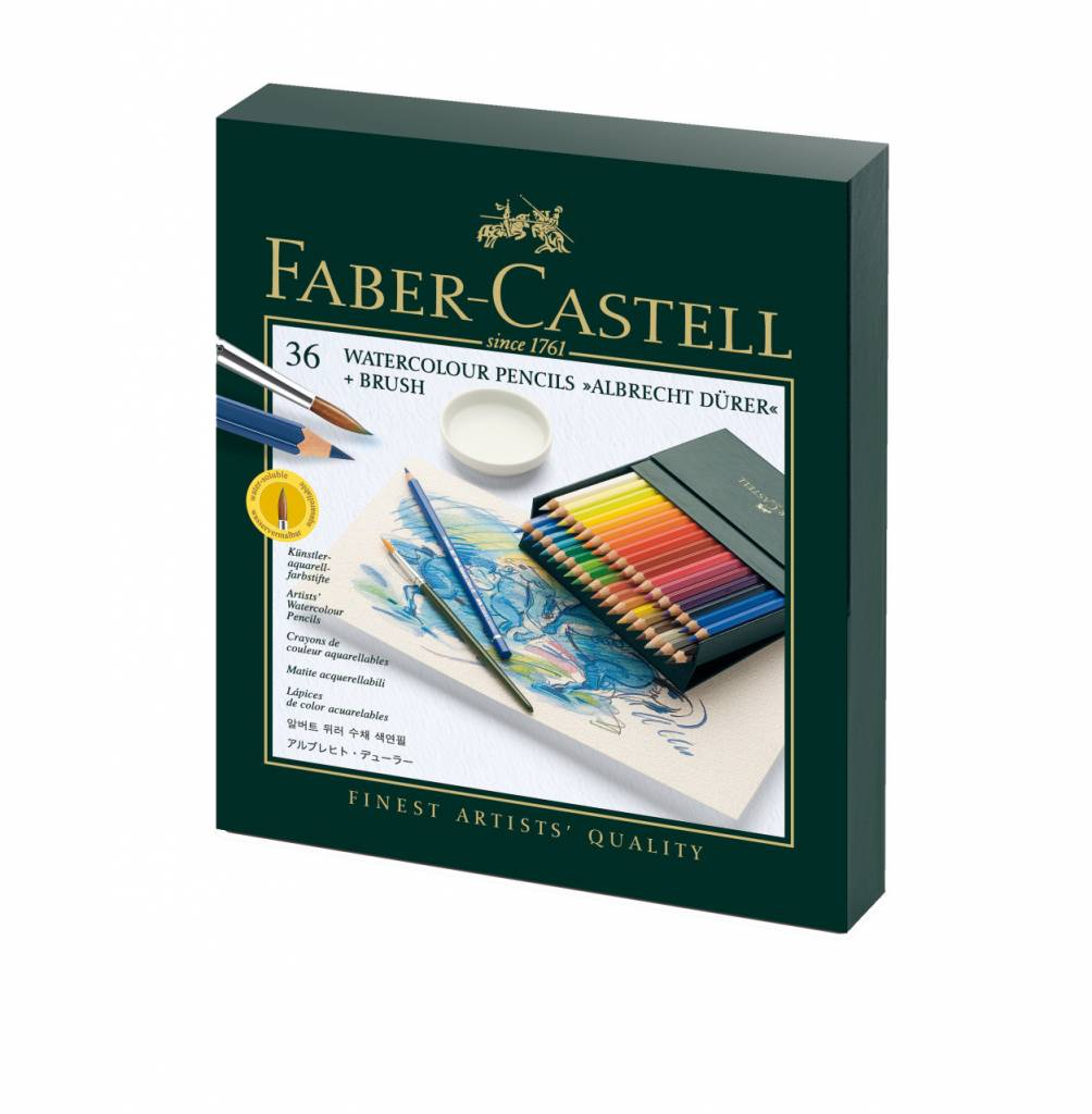 FABER CASTELL ALBRECHT DURER WATERCOLOUR PENCIL STUDIO BOX SET/36    FAC-117538