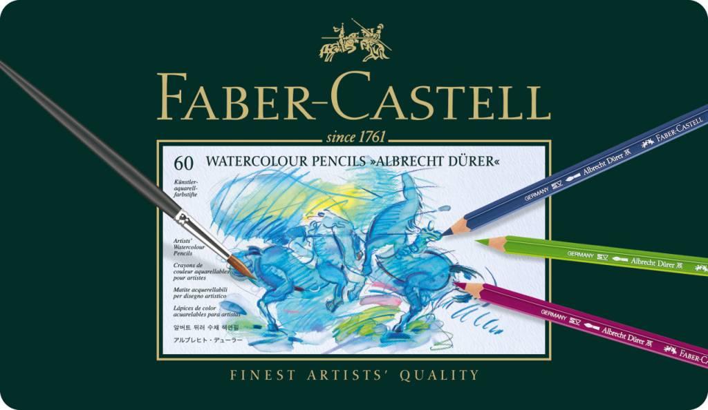 FABER CASTELL ALBRECHT DURER WATERCOLOUR PENCIL SET/60    FAC-117560