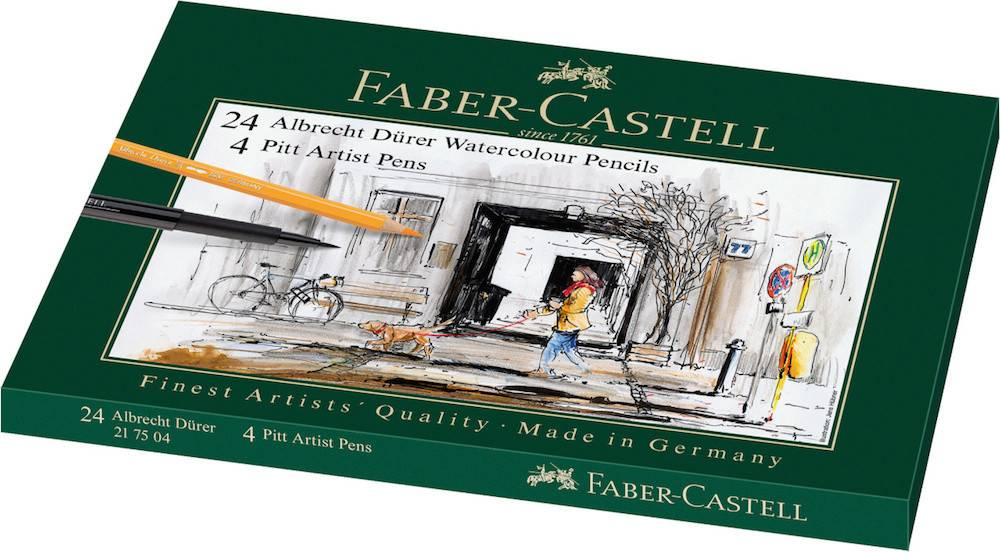 FABER CASTELL FABER CASTELL MIXED MEDIA TIN ALBRECHT DURER AND PITT ARTIST PEN    FAC-217504
