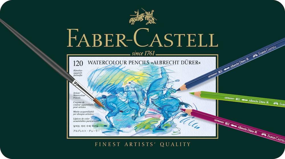 FABER CASTELL ALBRECHT DURER WATERCOLOUR PENCIL SET/120    FAC-117511