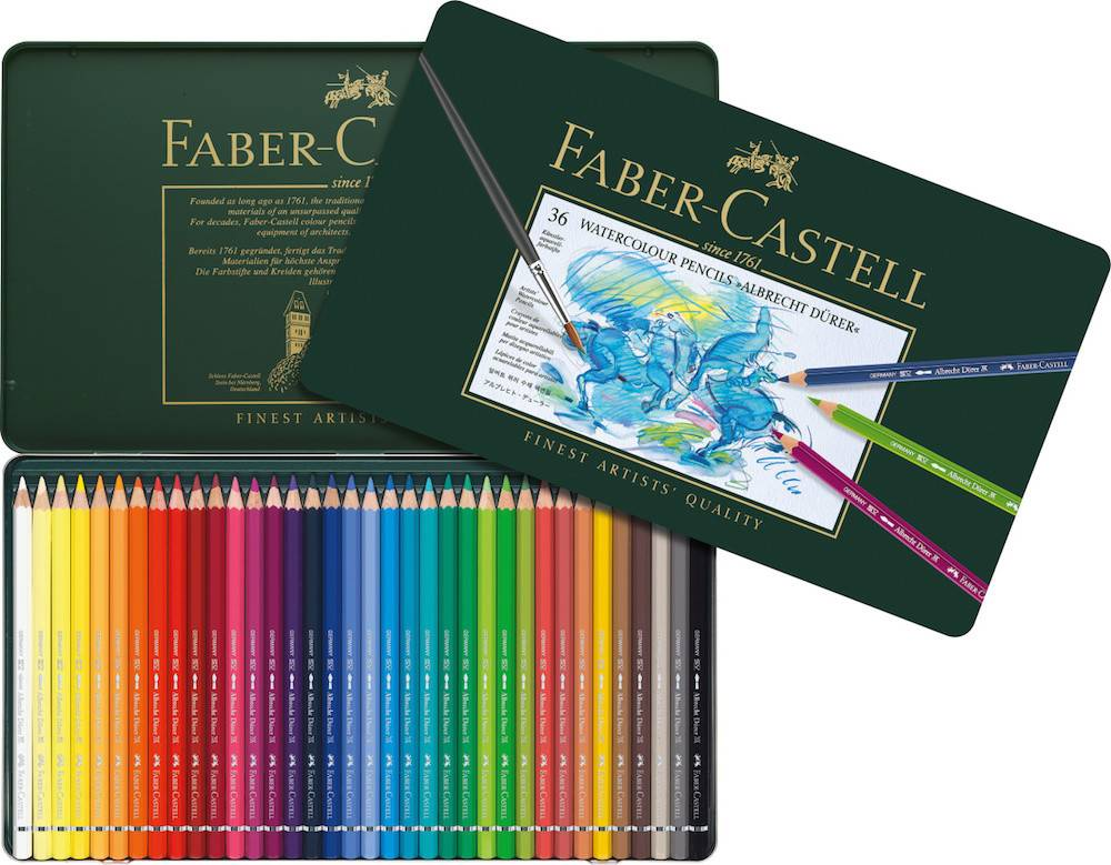 FABER CASTELL ALBRECHT DURER WATERCOLOUR PENCIL SET/36    FAC-117536