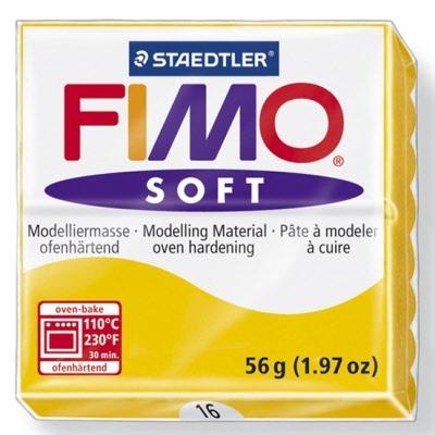 STAEDTLER FIMO SOFT OVEN BAKE CLAY 16 SUNFLOWER 57G