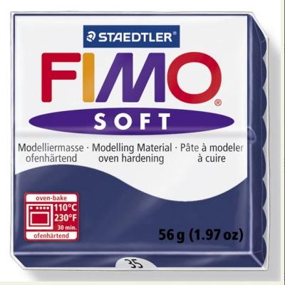 STAEDTLER FIMO SOFT OVEN BAKE CLAY 35 WINDSOR BLUE 57G