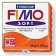 STAEDTLER FIMO SOFT OVEN BAKE CLAY 42 TANGERINE 57G