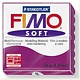 STAEDTLER FIMO SOFT OVEN BAKE CLAY 61 PURPLE 57G