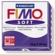 STAEDTLER FIMO SOFT OVEN BAKE CLAY 63 PLUM 57G