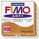 STAEDTLER FIMO SOFT OVEN BAKE CLAY 76 COGNAC 57G