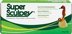 SCULPEY SUPER SCULPEY ORIGINAL BEIGE 1LB