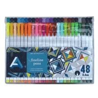 ART ALTERNATIVES ART ALTERNATIVES FINELINE PEN SET/48 AA10723