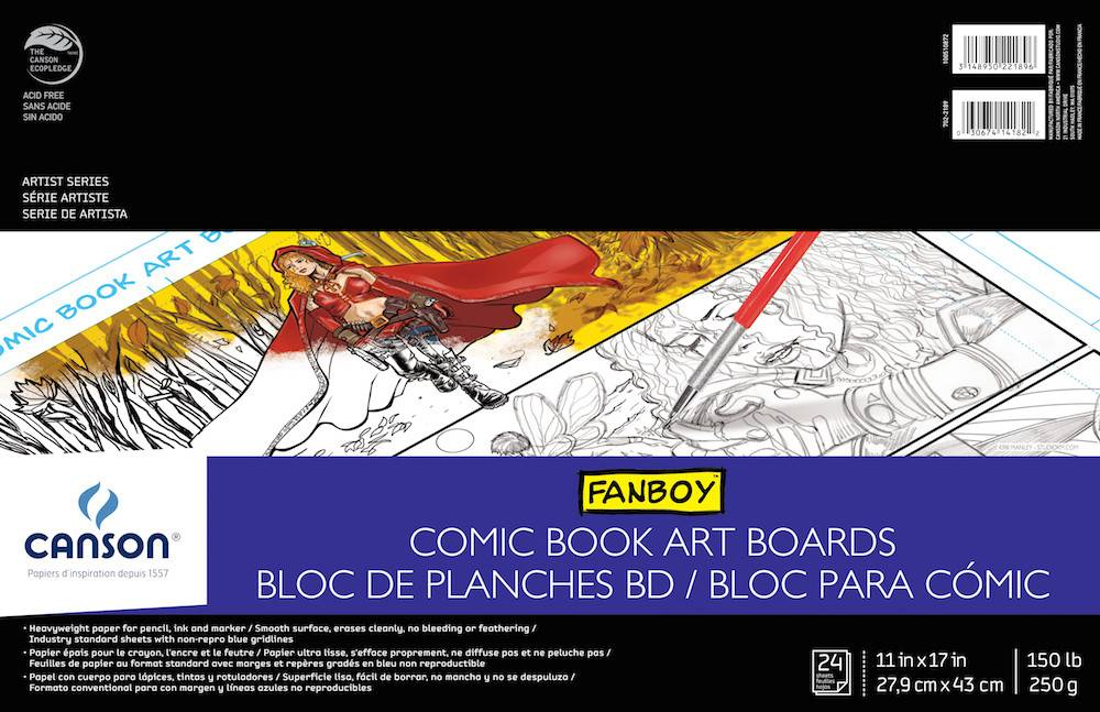 CANSON CANSON ARTIST SERIES COMIC BOOK ART BOARDS 11X17 150LB  24/SHT    CAN-100510872