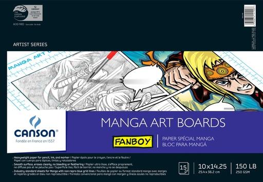 CANSON CANSON ART BOARD MANGA 10X14.25 15/PK    CAN-100510880