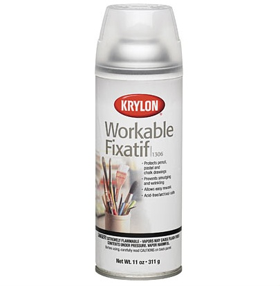 KRYLON KRYLON WORKABLE FIXATIF 11OZ    1306