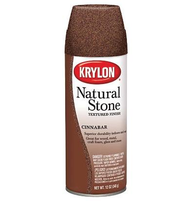 KRYLON KRYLON NATURAL STONE SPRAY CINNABAR 12OZ