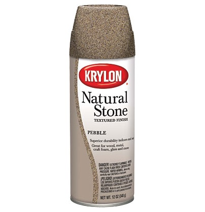 KRYLON KRYLON NATURAL STONE SPRAY PEBBLE 12OZ