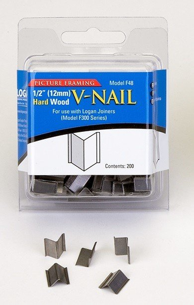 LOGAN LOGAN F48 V NAIL HARD 1/2IN 200/PK