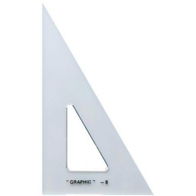 STAEDTLER TRIANGLE CLEAR 30/60 10 INCH