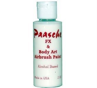 PAASCHE PAASCHE TEMPORARY TATTOO PAINT WHITE 1OZ