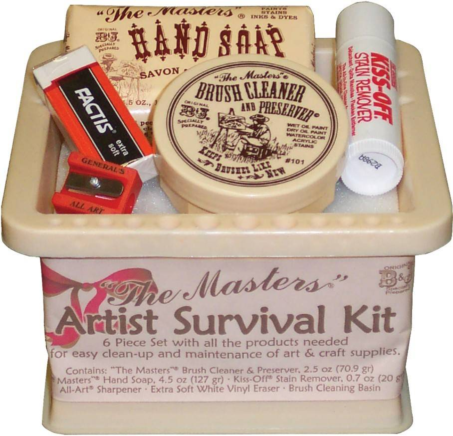GENERAL PENCIL THE MASTERS ARTIST SURVIVAL KIT     GEN-106-ASK