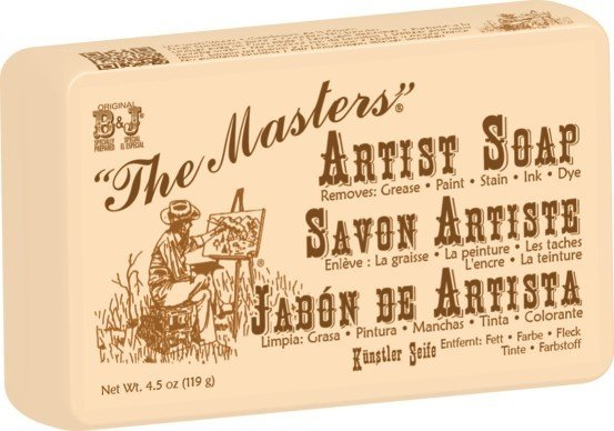 GENERAL PENCIL THE MASTERS ARTIST HAND SOAP 4.5OZ    GEN-102-BJBP