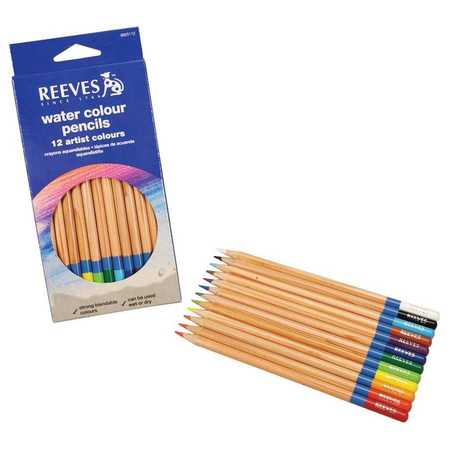 REEVES REEVES WATERCOLOUR PENCIL SET/12    8920112