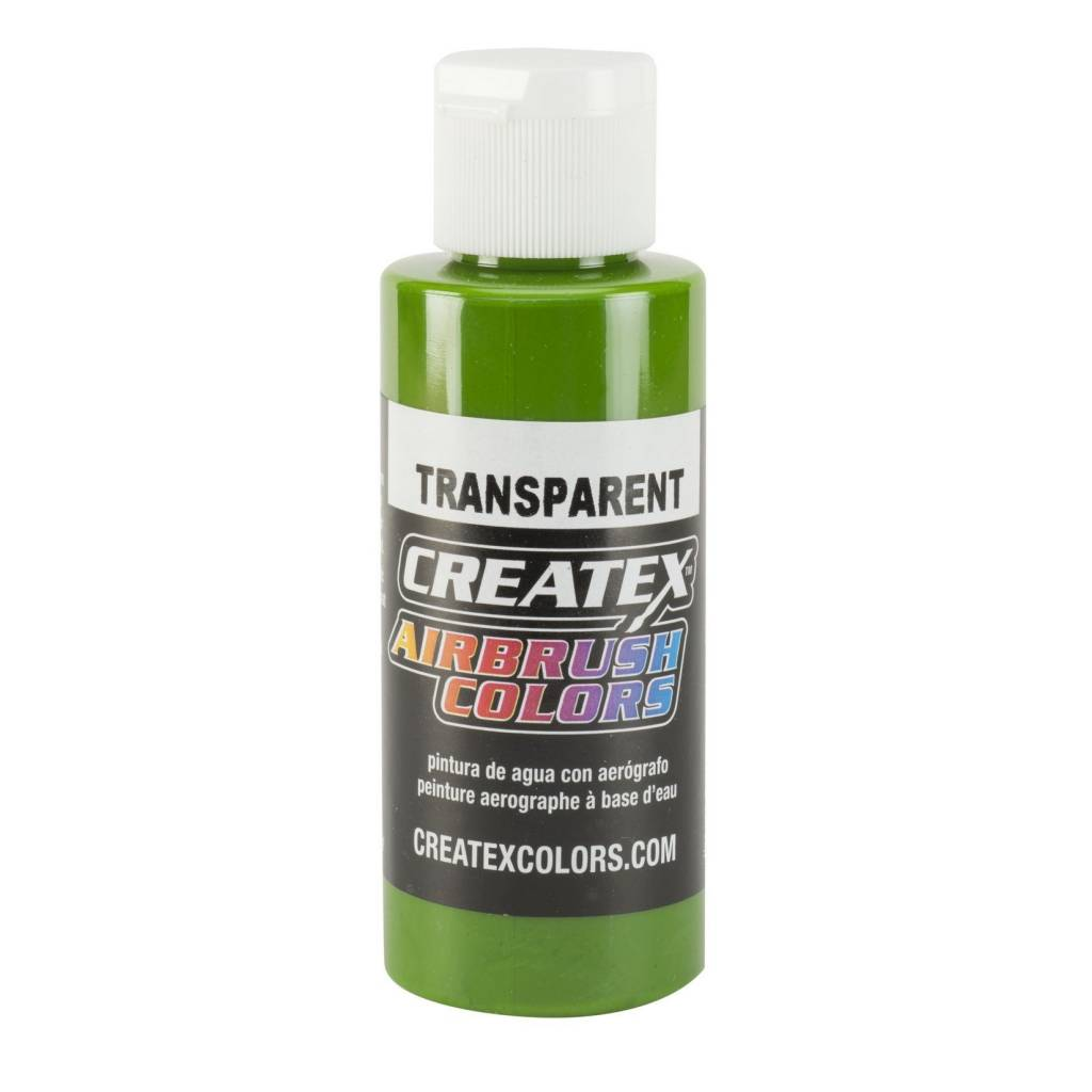 CREATEX CREATEX TRANSPARENT TROPICAL GREEN 2OZ