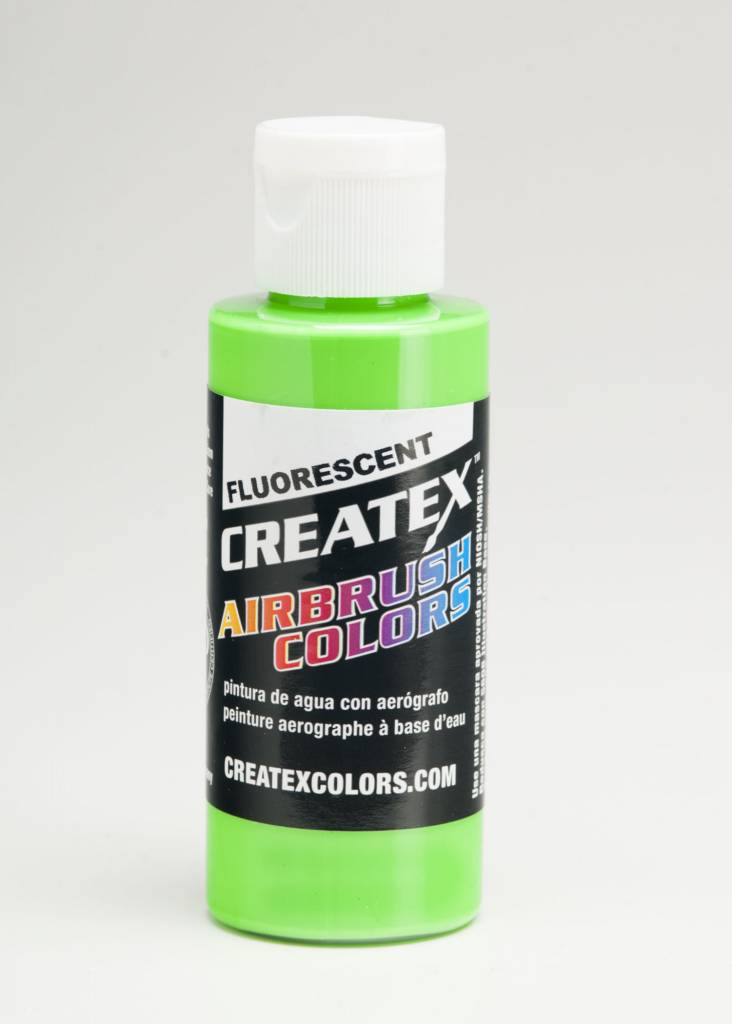 CREATEX CREATEX FLUORESCENT GREEN 2OZ