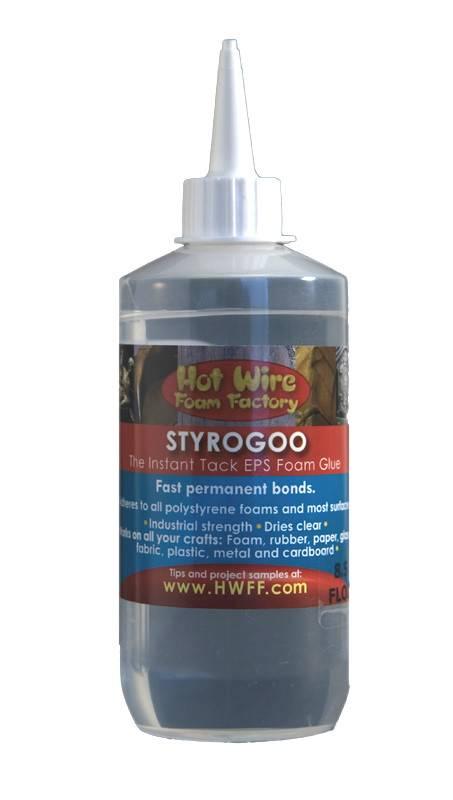 HOT WIRE FOAM FACTORY HOT WIRE STYROGOO 8.5OZ