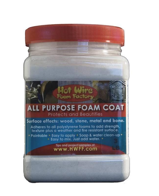 HOT WIRE FOAM FACTORY HOT WIRE ALL PURPOSE FOAM COAT 25LB