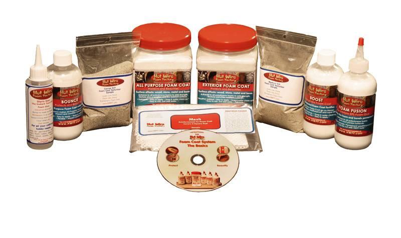 HOT WIRE FOAM FACTORY HOT WIRE FOAM COAT STARTER KIT