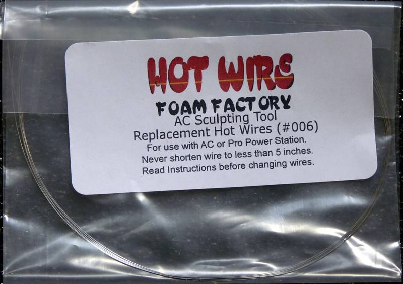 HOT WIRE FOAM FACTORY HOT WIRE SCULPTING TOOL WIRE #006