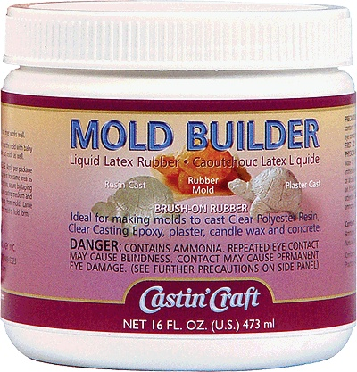 ENVIRONMENTAL TECHNOLOGY CASTIN CRAFT LATEX MOLD BUILDER 32OZ