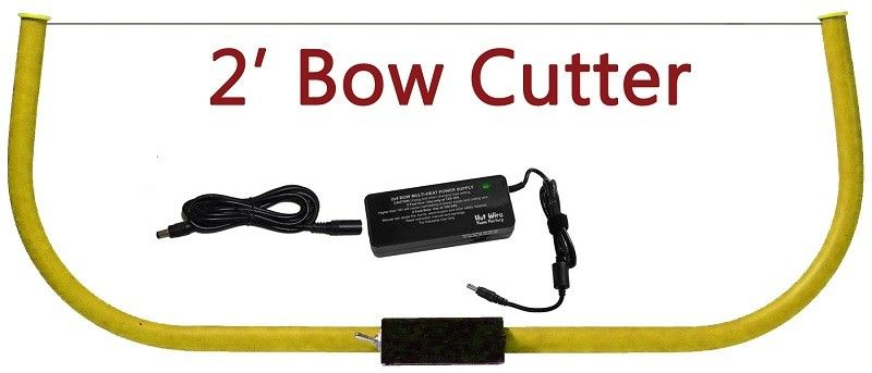 HOT WIRE FOAM FACTORY HOT WIRE 4 FOOT COMPOUND BOW CUTTER