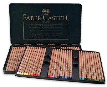 FABER CASTELL PITT PASTEL PENCIL SET/60