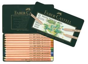 FABER CASTELL PITT PASTEL PENCIL SET/12