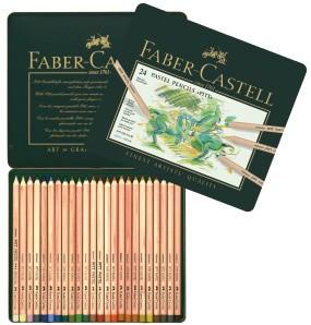 FABER CASTELL PITT PASTEL PENCIL SET/24